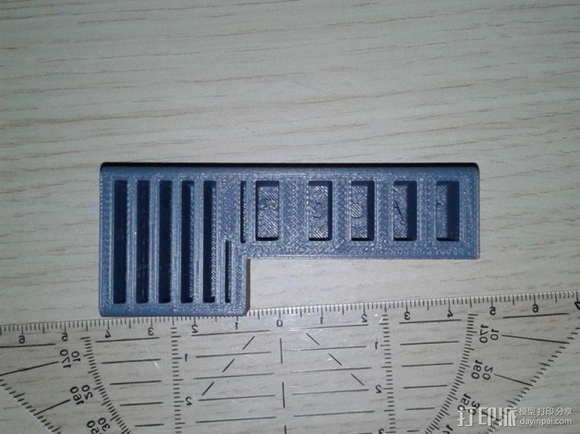 多功能SD/USB卡架 3D模型  图1