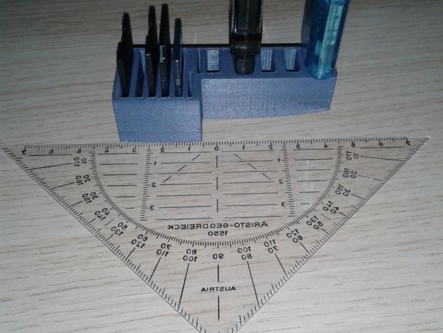 多功能SD/USB卡架 3D模型  图4