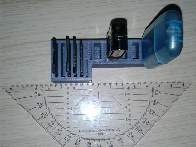 多功能SD/USB卡架 3D模型  图3