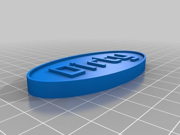 洗碗机状态磁力贴 3D模型  图4