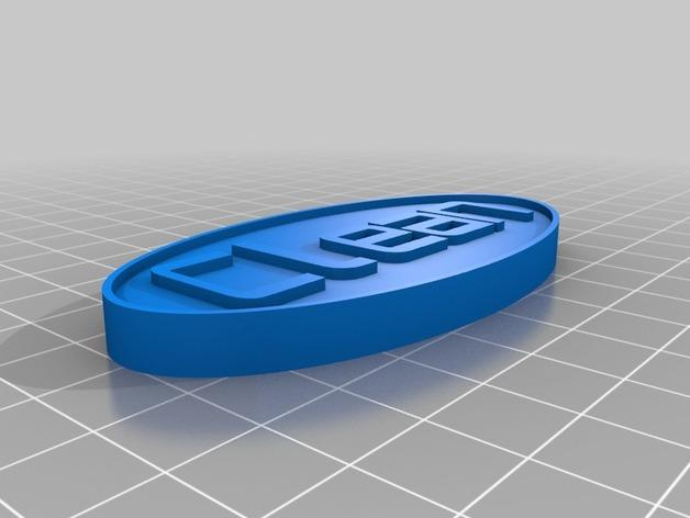 洗碗机状态磁力贴 3D模型  图3