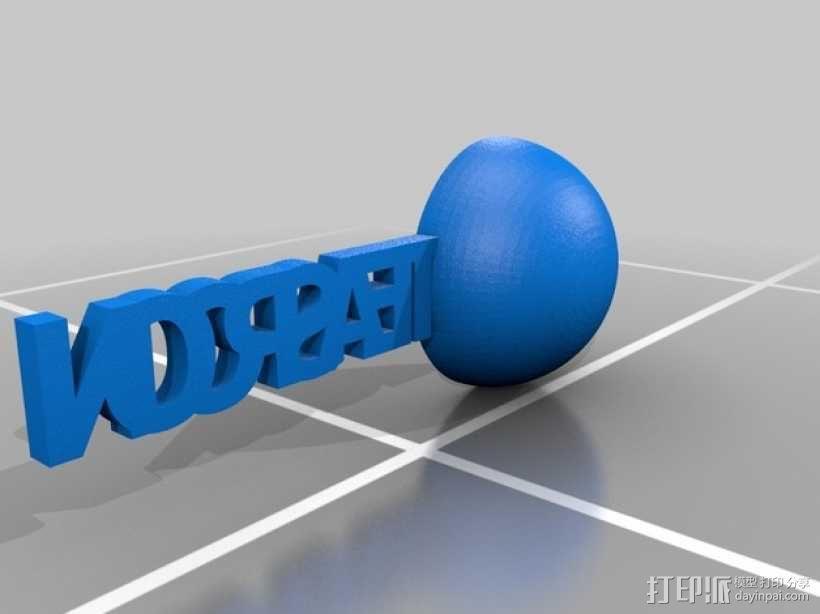 汤匙/茶匙 3D模型  图2
