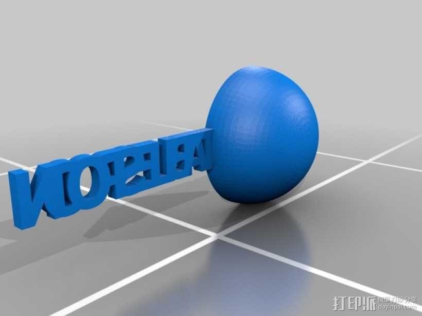 汤匙/茶匙 3D模型  图1