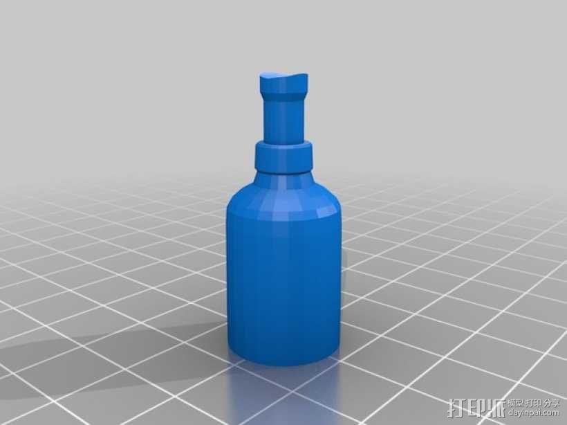 办公室用品分发器 3D模型  图3