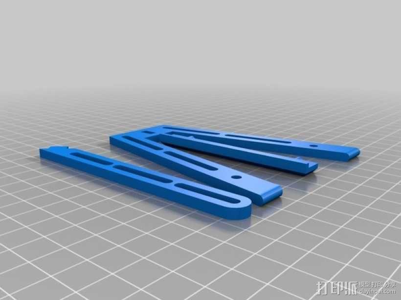 照片底座 3D模型  图2