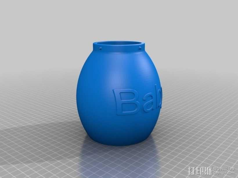 宝贝存钱罐 3D模型  图4