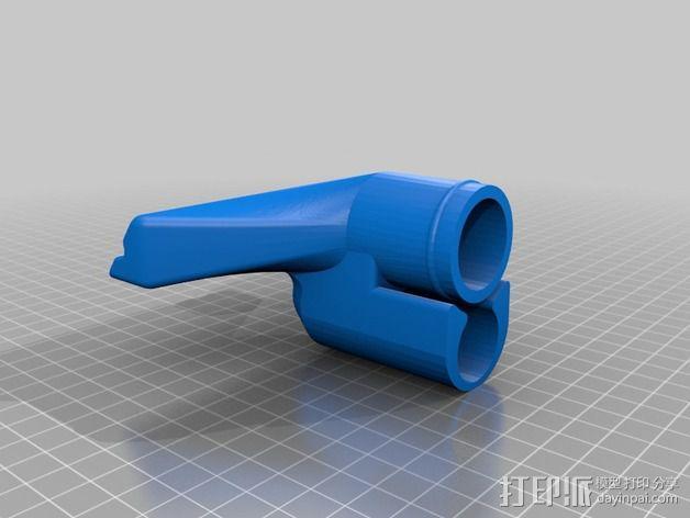 真空吸尘器软管吸嘴 3D模型  图3