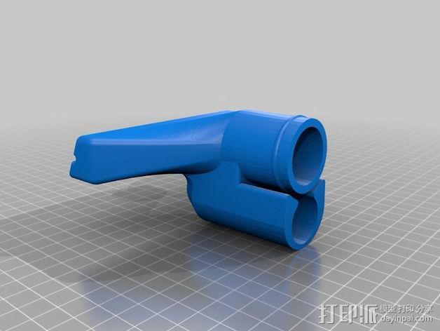 真空吸尘器软管吸嘴 3D模型  图4