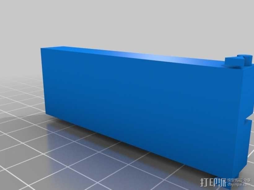 药丸切割机  3D模型  图3