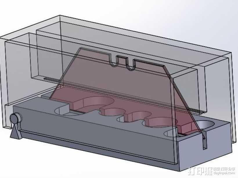 药丸切割机  3D模型  图6
