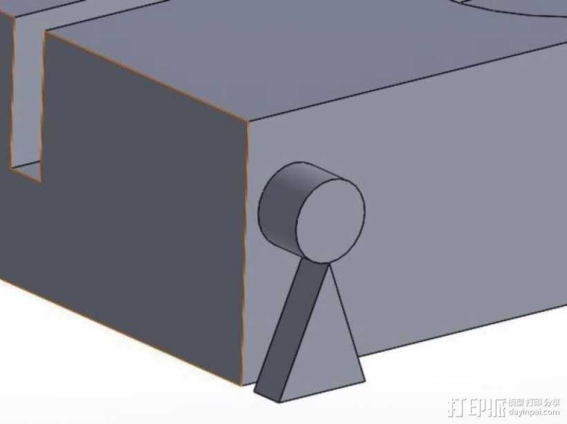 药丸切割机  3D模型  图8