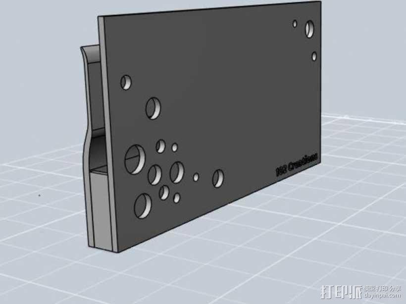 便携式名片盒 3D模型  图3