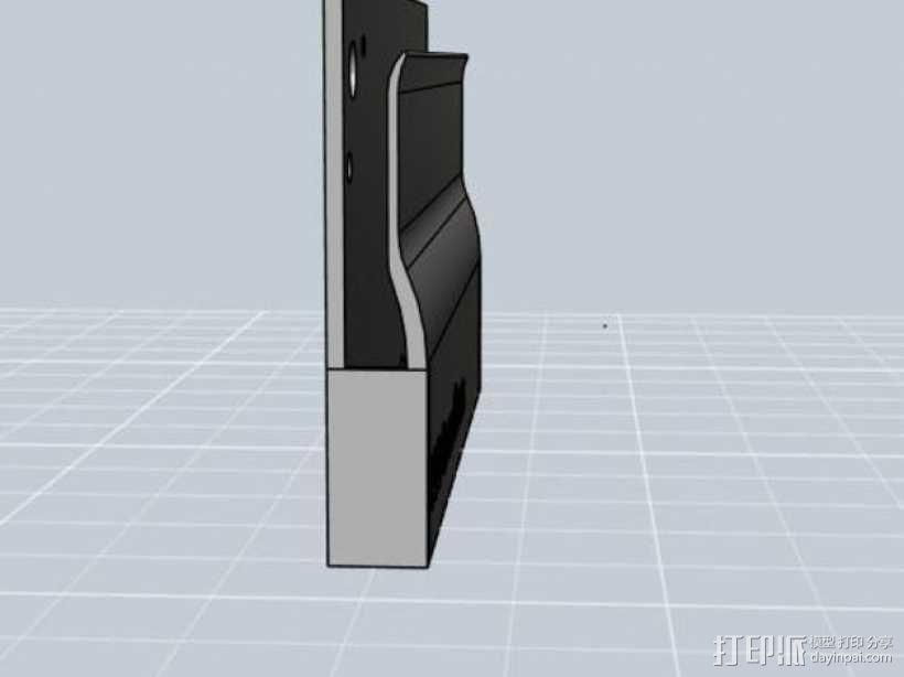 便携式名片盒 3D模型  图4