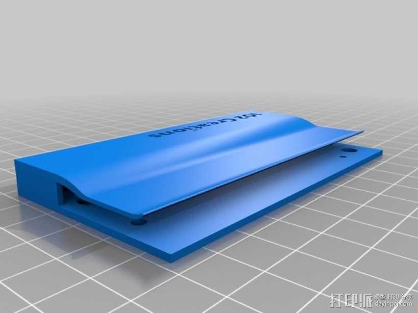 便携式名片盒 3D模型  图5
