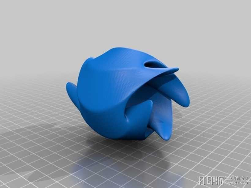 餐巾环 3D模型  图4