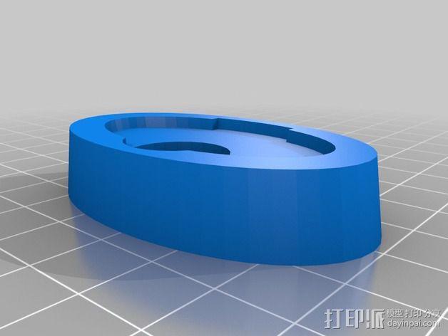 洗发精底座 3D模型  图2