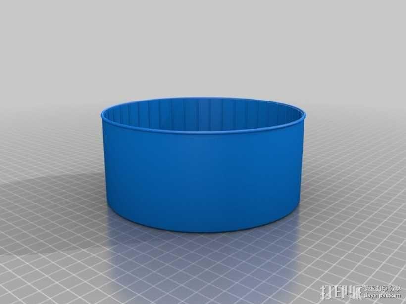 宠物仓鼠 滚动轮 3D模型  图2