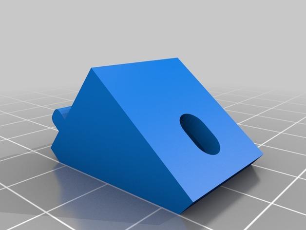 搁板托座 3D模型  图3