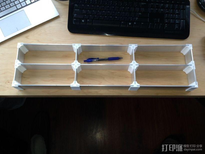 定制化抽屉分隔板 3D模型  图1