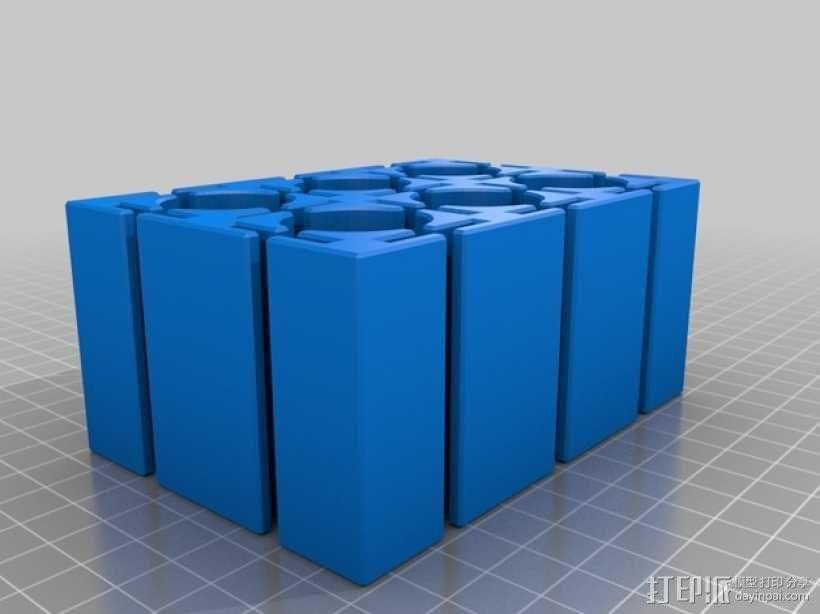 定制化抽屉分隔板 3D模型  图5