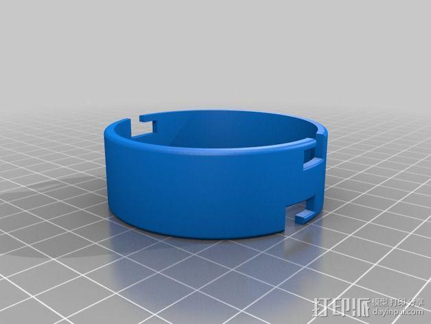 模块化胶囊仓鼠屋 3D模型  图2