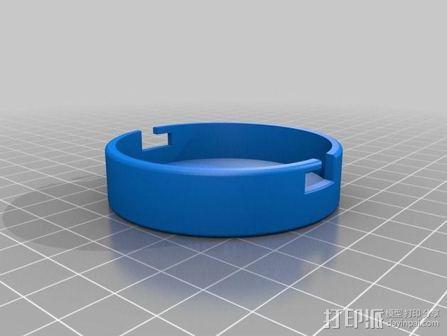 模块化胶囊仓鼠屋 3D模型  图4
