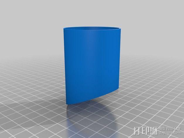 模块化胶囊仓鼠屋 3D模型  图3