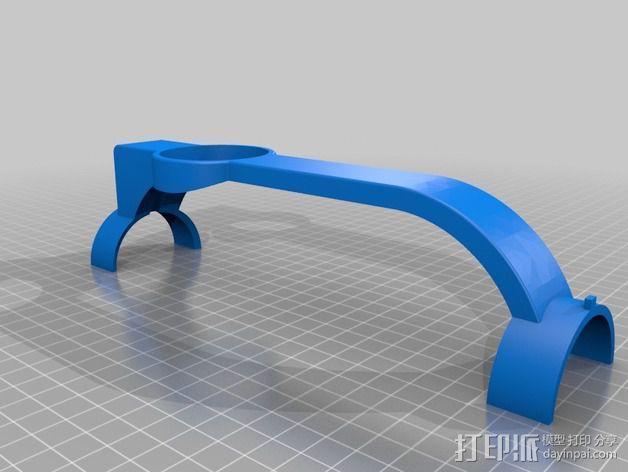 模块化胶囊仓鼠屋 3D模型  图5