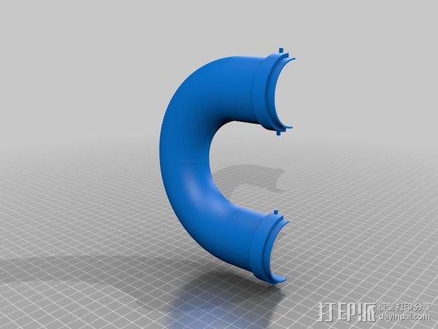 模块化胶囊仓鼠屋 3D模型  图6