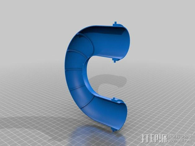 模块化胶囊仓鼠屋 3D模型  图7