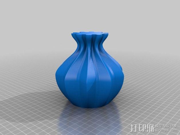 个性化伸缩礼物盒 3D模型  图2