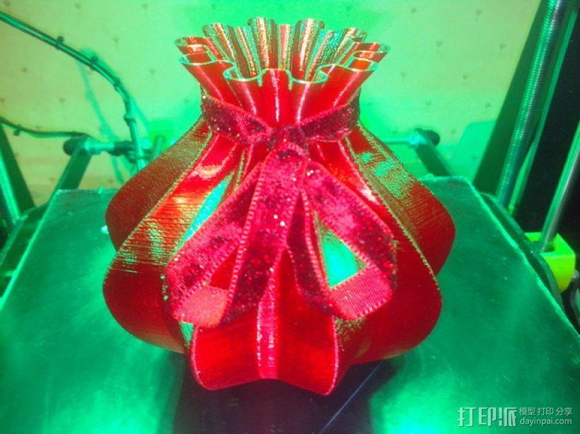 个性化伸缩礼物盒 3D模型  图1