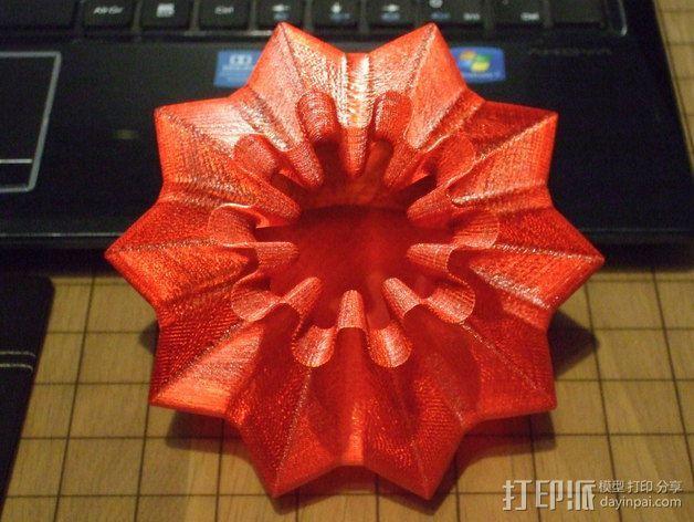 个性化伸缩礼物盒 3D模型  图4