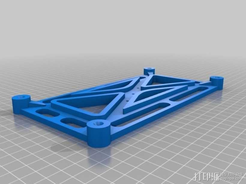 三星2494l LW显示器固定架 3D模型  图7