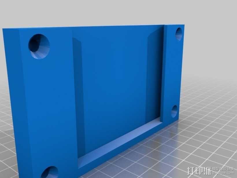 三星2494l LW显示器固定架 3D模型  图6