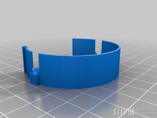 电缆卷盘v2 3D模型  图2