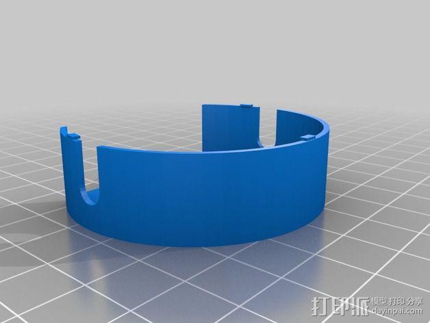 电缆卷盘v2 3D模型  图3