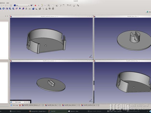 电缆卷盘v2 3D模型  图6