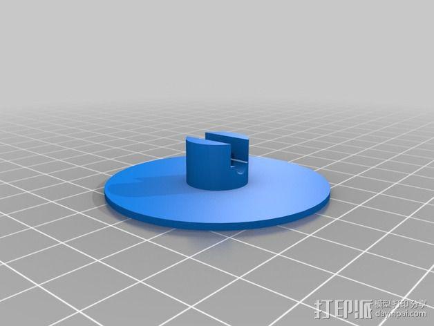 电缆卷盘v2 3D模型  图4