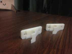 窗帘杆支架 3D模型