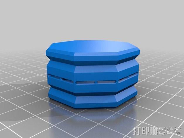 糖果形礼物盒 3D模型  图2