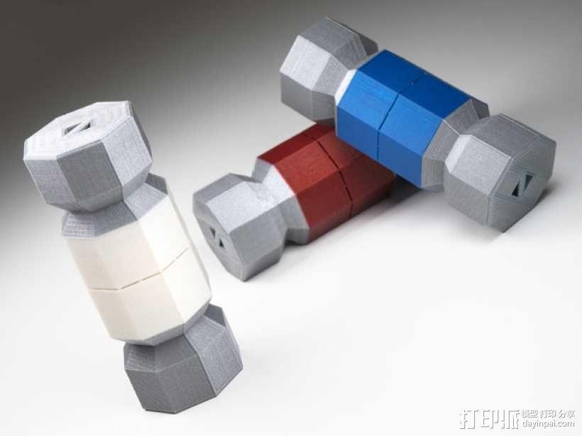糖果形礼物盒 3D模型  图1