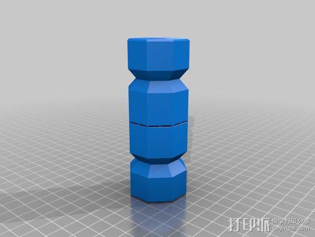 糖果形礼物盒 3D模型  图4