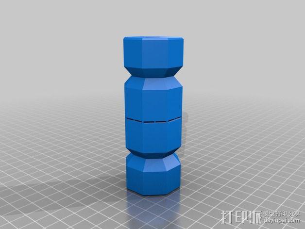 糖果形礼物盒 3D模型  图3