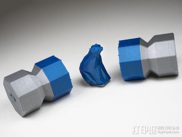 糖果形礼物盒 3D模型  图7