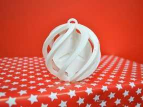 圣诞小球装饰品 3D模型