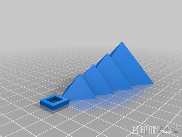圣诞树装饰品 3D模型  图1