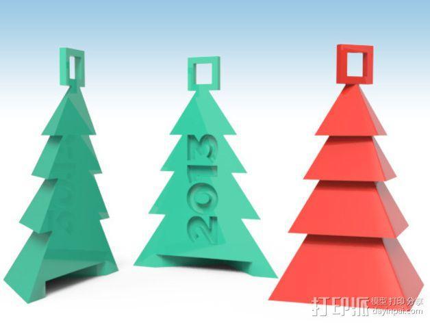 圣诞树装饰品 3D模型  图3