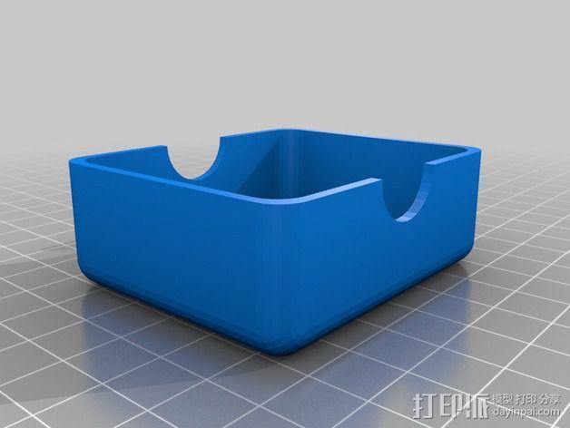 简易肥皂盒 3D模型  图3