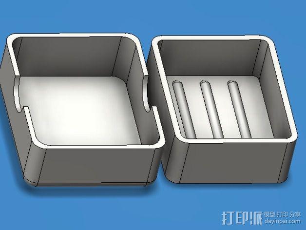 简易肥皂盒 3D模型  图6